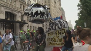 Tens of thousands join world-wide protests raising awareness on climate change