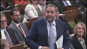 Mulcair slams Harper for not releasing full audit report on Duffy expenses