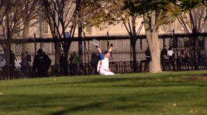 White House in lockdown after man jumps fence, suspect in custody
