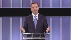 Ontario Election Debate: Horwath jabs Hudak's jobs plan by comparing it to cough syrup