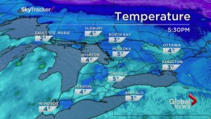 Ideal situation for spring-like thaw around GTA