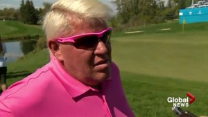 John Daly speaks ahead of Shaw Charity Classic