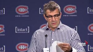 Canadiens GM Marc Bergevin on PK Subban trade: One of the most difficult decisions