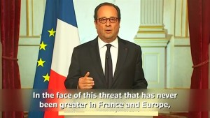 Islamic militant threat to Europe has never been so severe: French president