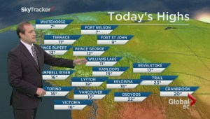 BC Evening Weather Forecast: Sep 21