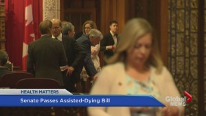 Senate passes Trudeau government's assisted dying law