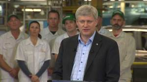 Free-trade deal made Honda Canada's exports possible: Harper