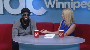 Stand-up comedian Wil Sylvince stops by Global News Morning