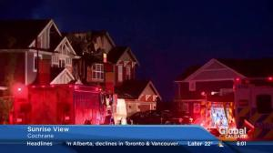 Two homes damaged in Cochrane fire