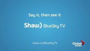 Shaw BlueSky TV offers first voice-controlled video box in Canada