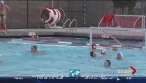 Saskatchewan water polo players making a splash