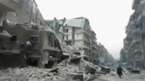 360-degree video shows extent of devastation in eastern Aleppo