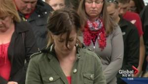 Cochrane Mourns Fallen Moncton Officers