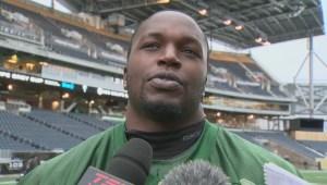 RAW: Winnipegger Don Oramasionwu on Grey Cup
