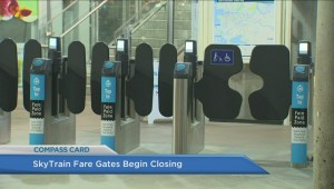 Commuters adjust to fare gates closed at SkyTrain