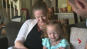 Okanagan girl thriving despite given a poor chance of survival when she was born in South Africa