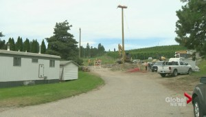 Lake Country residents chocked by construction dust