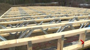 Community comes together to build new home for fire victim
