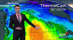 Saskatoon weather outlook – hottest air so far this year moves in