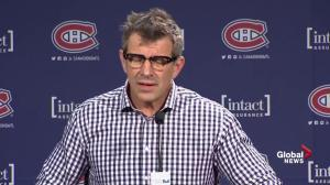 Canadiens GM Marc Bergevin says reports Subban was a problem were blown out of proportion