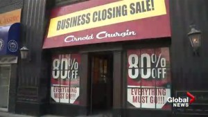 Iconic Calgary shoe store Arnold Churgin closes, but new business licences strong