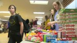 Youth give back to those struggling over holidays