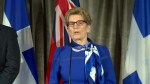 Wynne says focus on combating climate change also about the economy
