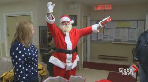 Homeless Moncton man's Santa suit stolen