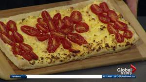 Juniper Café and Bistro makes tomato ricotta tart in the Global Edmonton kitchen (Part 1)