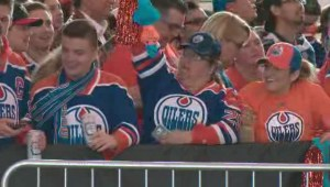 'The energy is unbelievable': euphoria sweeps over Edmonton after Game 6 win