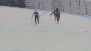 The world's best in the crazy sport of Ski Cross hit Nakiska