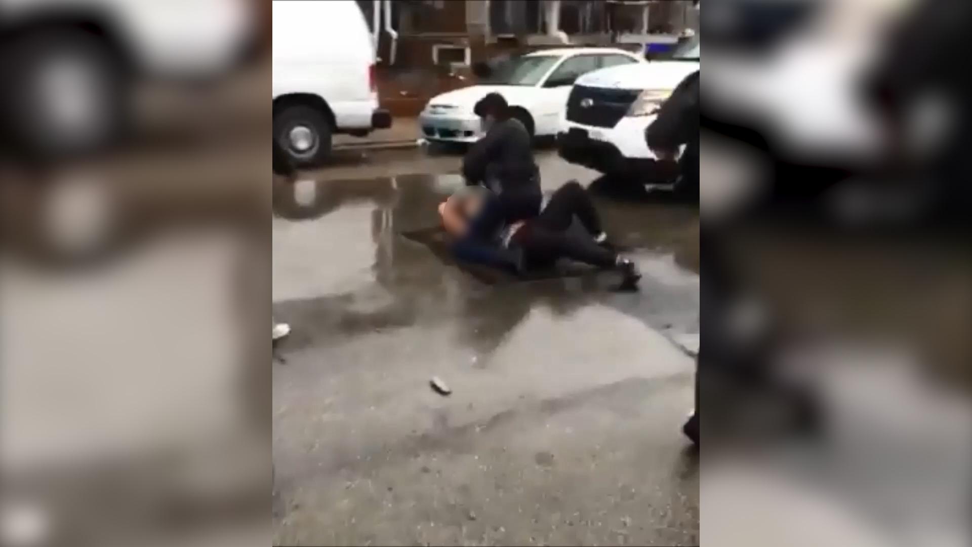 Video of Philadelphia cop beating teenage girl sparks investigation