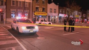 Police searching for suspect in fatal stabbing on Danforth