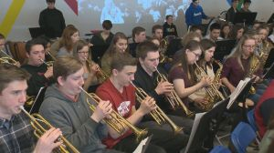 WWII strikes a chord with Kelowna students