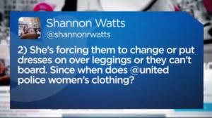 United Airlines dress code on leggings: misogynistic or misunderstanding?