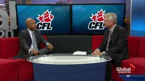 CFL Commissioner in Edmonton