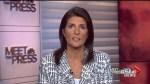 Nikki Haley praises Trump for air strike in Syria