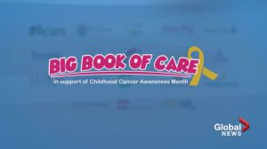 Childhood cancer groups launch 'The Big Book of Care'
