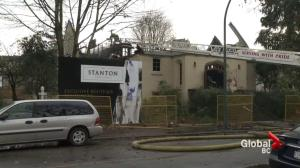 Fire claims vacant church in Kerrisdale neighbourhood