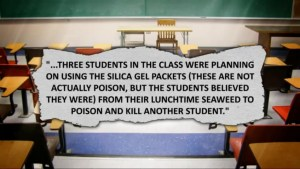 First-graders' plot to poison, kill classmate foiled by fellow student