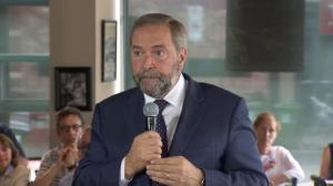 Tom Mulcair: We want Canada to be a respected player on the world stage again