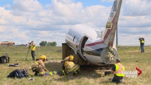 Over 50 first responders tackle mock disaster