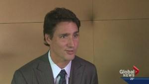 Justin Trudeau in Edmonton