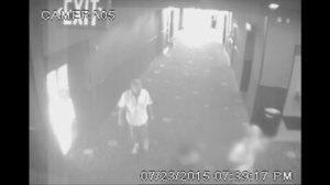 Surveillance video shows Lafayette shooting suspect in theatre before shooting
