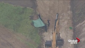 Human remains found at construction site in Okotoks