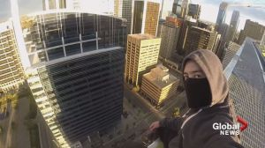 Calgary crane climbers YouTube video catches eye of police