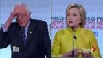 Clinton, Sanders face off in Democratic debate