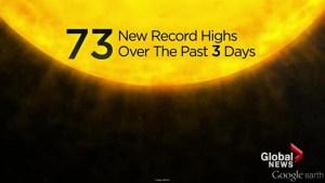 June heat records broken across BC
