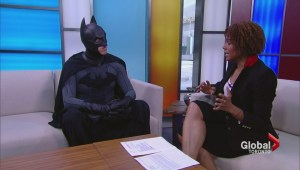 Batman will win the Scotiabank Toronto Waterfront Marathon…because he's Batman!