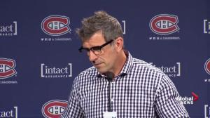 Canadiens GM Marc Bergevin says Shea Weber has a lot of good hockey ahead of him
